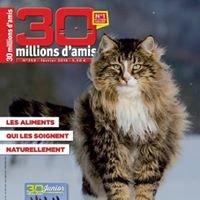 Le magazine 30 MILLIONS D'AMIS
