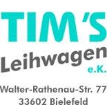 Tims Leihwagen