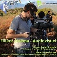 Filière Cinéma Audiovisuel - IUT di Corsica
