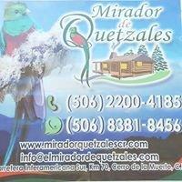 Mirador de Quetzales Costa Rica