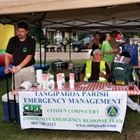 Tangipahoa Parish Community Emergency Response Team