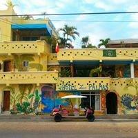 Hotel Las Palmas on Isla Mujeres- Mexico