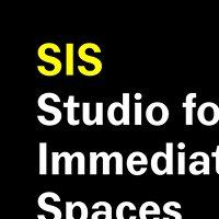 Studio for Immediate Spaces / Sandberg Instituut