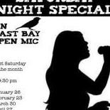Saturday Night Special, an East Bay open mic