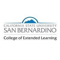 California State University, San Bernardino College of Extended Learning
