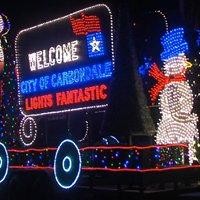 Carbondale Lights Fantastic Parade