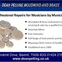 Dean Pelling Woodwind & Brass