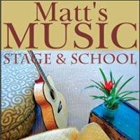 Matt's Music, Stage & School