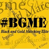 The Black and Gold Marching Elite