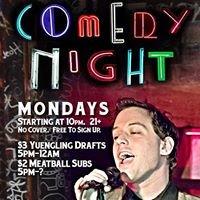 Monday Night Comedy Night at Lava Lounge