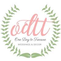 One Day To Treasure Weddings & Decor