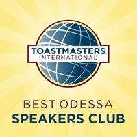Best Odessa Speakers Club (Toastmasters International)