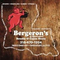 Bergeron's Boudin and Cajun Meats of  Shreveport