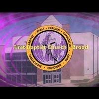 First Baptist Church Broad Av