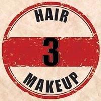 3 Hair Makeup