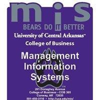 MIS Department University of Central Arkansas