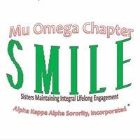 Alpha Kappa Alpha Sorority, Inc. ~ Mu Omega Chapter