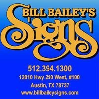Bill Bailey's Signs