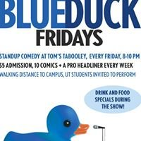 Blue Duck Fridays at Tom's Tabooley