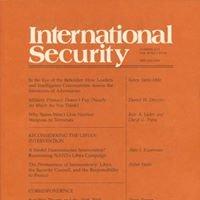 Quarterly Journal: International Security