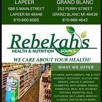 Rebekahs Health and Nutrition Source