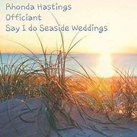 Say I Do Seaside Weddings & Ceremonies