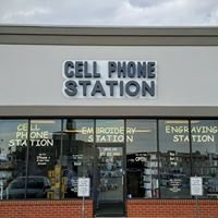 Cell Phone Station, Embroidery Station, & Engraving Station
