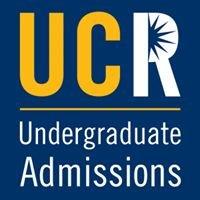 University of California, Riverside Undergraduate Admissions