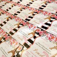 Butterfly Creations Invitations by Marie