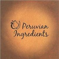 Peruvian Ingredients
