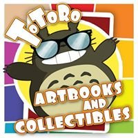Totoro Art books and Collectibles