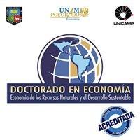 Doctorado en Economía de los Recursos Naturales y el Desarrollo Sustentable
