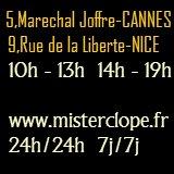 Mister Clope - Cigarettes électroniques Nice Cannes