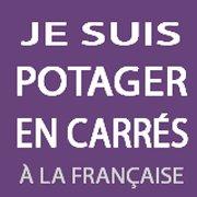 Le potager en carrés à la française