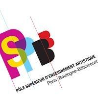 PSPBB - Pôle supérieur d'enseignement artistique Paris Boulogne-Billancourt