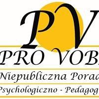 Niepubliczna Poradnia Psychologiczno-Pedagogiczna PRO VOBIS