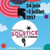 SOLSTICE , Festival des ARTS DU CIRQUE