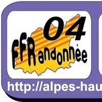 FFR04 - Associations de la FF RANDO des ALPES De HAUTE Provence