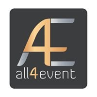 All4event - vše pro Vaši soukromou či firemní akci