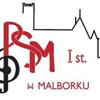 Państwowa Szkoła Muzyczna I st. im. I.J.Paderewskiego w Malborku