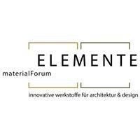 ELEMENTE materialForum - Events