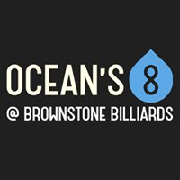 OCEANS 8 AT  BROWNSTONE BILLIARDS