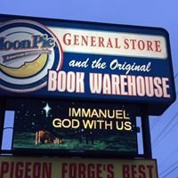Moonpie General Store and Book Warehouse in Pigeon Forge Tennessee