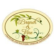 Branch & Vine    Olive Oil and Balsamic Vinegar Tasting Bar