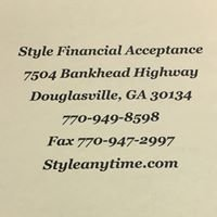 Style Financial Acceptance Co., LLC