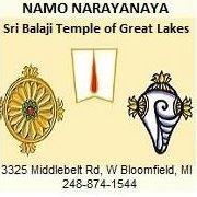 Sri Balaji Temple of Great Lakes