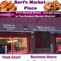 Bert's  Market Place Complex Of Detroit /  Local And National Entertainment