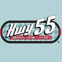 HWY 55 Burgers Shakes and Fries Abu Dhabi