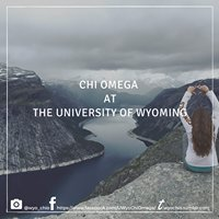 Chi Omega at University of Wyoming