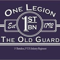 One Legion 1st BN, 3rd US INF REG, (The Old Guard)